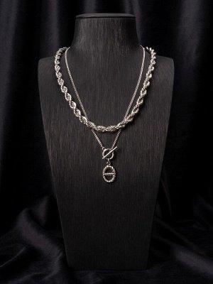 10148531 Колье Street Fashion - Бижутерия Selena