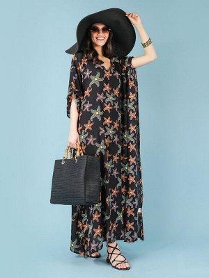 Платье 100% вискоза, FABRETTI, FRT2021016-2