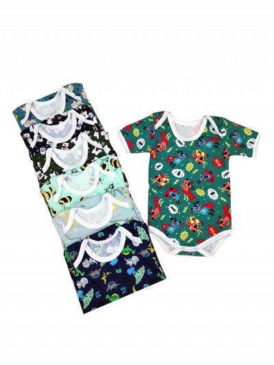 Океан текстиля — носки, трусы упаковками. Одежда для дома. — Детский трикотаж. Для новорожденных — Боди и песочники