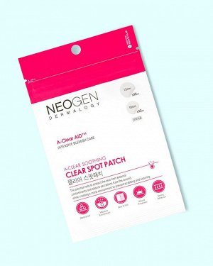 Neogen A-CLEAR Soothing Clear Spot Patch Точечные патчи от воспалений  24 шт.