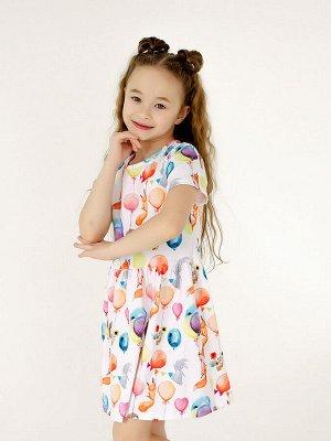 Платье Лето воздушные шары
