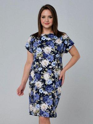 Платье женское синий