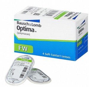 Квартальные контактные линзы B&L Optima FW 4 линзы