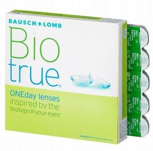 Однодневные контактные линзы B&L Biotrue ONEDay 90 линз