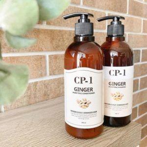 Кондиционер для поврежденных волос с экстрактом имбиря и меда Esthetic House CP-1 Ginger Purifying Conditioner