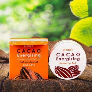 Гидрогелевые патчи с экстрактом какао Petitfee Cacao Energizing Hydrogel Eye Patch
