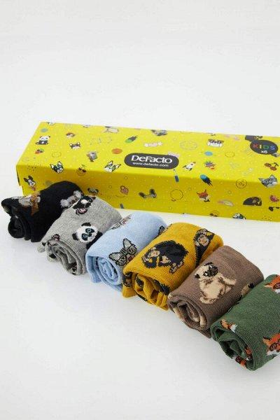 DEFACTO - детская коллекция.Распродажа в каждой коллекции    — Мальчики 3-14лет носки — Носки и гольфы