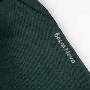 Брюки Количество в упаковке: 1; Артикул: BN-496К-461-З; Цвет: Зелёный; Ткань: Футер 2-х нитка; Состав: 100% Хлопок; Цвет: ЗелёныйСкачать таблицу размеров