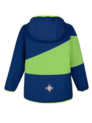 Куртка Темно-синий/салатовый