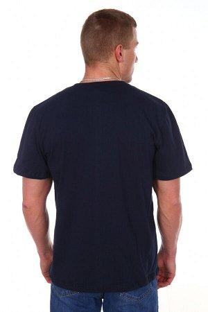 Футболка Количество в упаковке: 1; Артикул: ДТЖ-Ф-6; Цвет: Синий; Ткань: Кулирка; Состав: 100% Хлопок; Цвет: Синий Скачать таблицу размеров