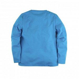 Лонгслив Количество в упаковке: 1; Артикул: BN-205К-161-В; Цвет: Голубой; Ткань: Кулирка; Состав: 100% Хлопок; Цвет: Синий | Синий | Бирюзовый | Голубой Скачать таблицу размеров