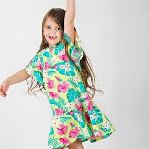 Платье Количество в упаковке: 1; Артикул: BN-157Л21-171; Цвет: Зелёный; Ткань: Кулирка; Состав: 100% Хлопок; Цвет: Салатовый Скачать таблицу размеров                                                 П