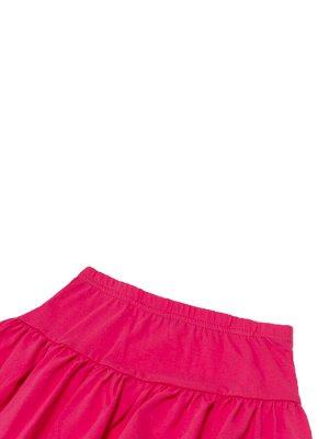 Юбка Количество в упаковке: 1; Артикул: WIN-WKG11047/1; Цвет: Розовый; Ткань: Хлопок; Состав: 100% Хлопок; Цвет: Розовый | Светло-розовый Пышная многослойная юбка для девочки из натурального 100%