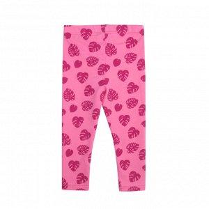 Леггинсы Количество в упаковке: 1; Артикул: BN-471Л21-177; Цвет: Розовый; Ткань: Кулирка с лайкрой; Состав: 95% хлопок, 5% лайкра; Цвет: Розовый Скачать таблицу размеров