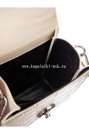 2903 Сумка Застежка: с застежкой; Ручка: Съемная; Материал: экокожа; Тип изделия: Сумка; Размер: 15 х 18 х 6