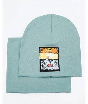 46-52-FT (52-54)(шапка+снуд) Комплект