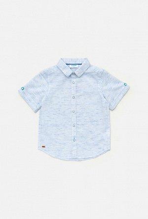 Сорочка верхняя детская для мальчиков Amadeo голубой