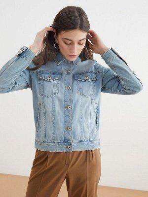 Жакет джинсовый жен. HANYA2 темно-голубой