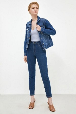 Брюки джинсовые жен. POMEGRANATE2 темно-голубой