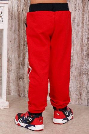 Брюки детские БД8, цвет красный, размеры 32-42
