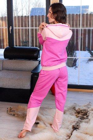 Костюм подростковый КП15 цвет розовый, размеры 40-46