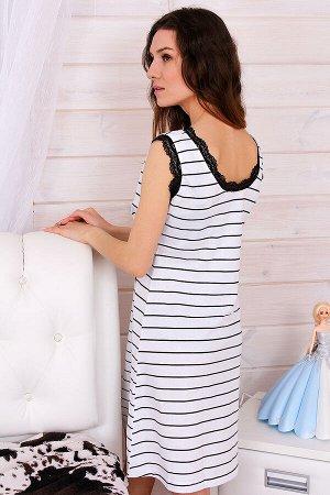 Сорочка женская СЖ26, цвет белый