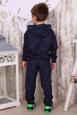 Костюм для мальчика КД5, цвет джинс, размеры 32-36