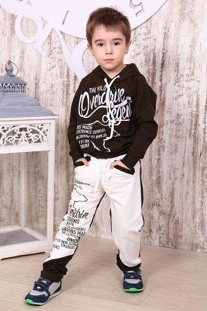 Костюм для мальчика КД6, цвет темно-коричневый, размеры 32-36