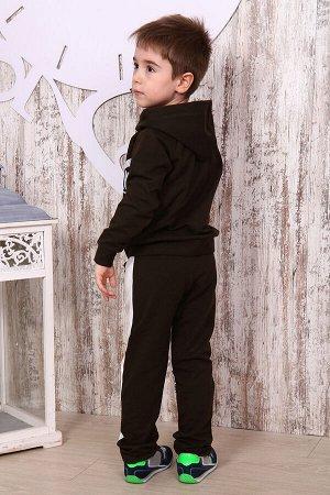 Костюм для мальчика КД6, цвет темно-коричневый, размеры 32-38