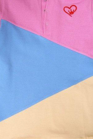Поло Funny Animals, цвет микс, размеры 104-140