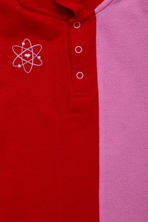Поло ОРБИТА, цвет микс, размеры 104-140