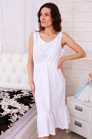 Сорочка женская СЖ14, цвет белый, размер 42-48