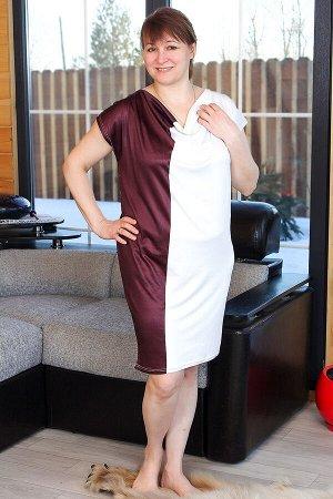 Платье ПЛЖ37, цвет микс, размеры 48-54