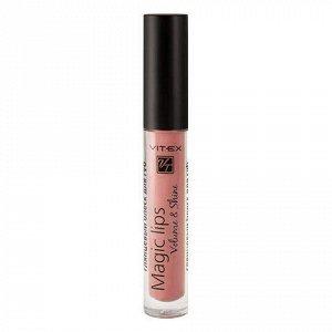 VITEX Глянцевый блеск для губ MAGIC LIPS, 3 г. тон 807 Powder pink