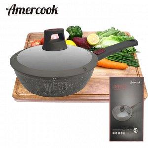 """Сковорода с антипригарным покрытием Amercook """"Infito"""" / 24 см"""