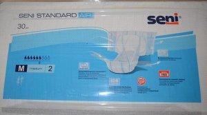 Подгузники для взрослых Seni Standard AIR 2 Medium Объем талии 75-110 см (впитываемость 1800мл)