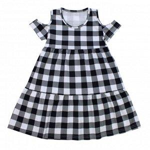 Платье Милое летнее платье. Материал:  100% хлопок, кулирка