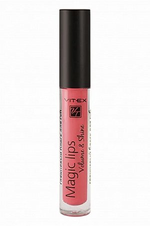 VITEX Глянцевый блеск для губ MAGIC LIPS, 3 г. тон 810 Red blossom