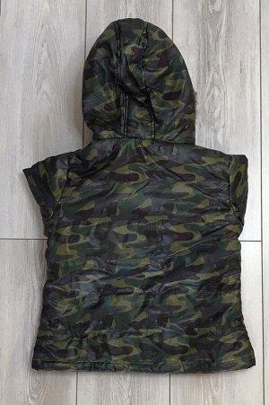 Куртка детская камуфляж