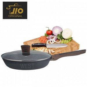"""Сковорода с гранитным покрытием JIO """"Granite Fry Pan"""" / 22 см"""