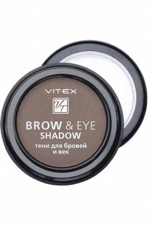 VITEX Тени для бровей и век BROW&EYE SHADOW , тон 12