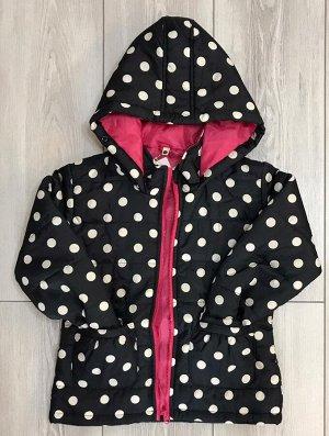 Куртка детская горох
