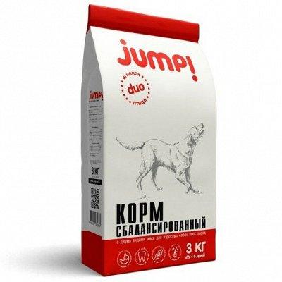 Корм для кошек и собак из высококачественного сырья — Корм для собак Jump — Корма