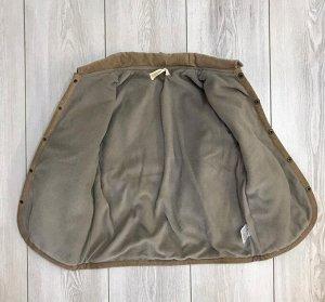 Куртка детская стеганная серая