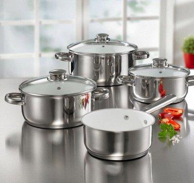 Бюджетная бытовая техника и посуда в твой дом! — Посуда кухонная из нержавеющей стали — Посуда