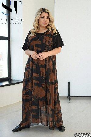 Платье двойка 68258
