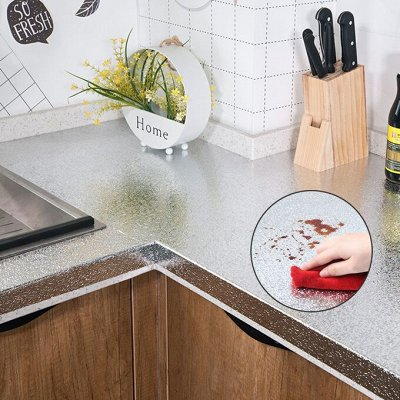 Идеальная хозяюшка❤️Всё что нужно для уборки  — Самоклеящаяся пленка с алюминиевым покрытием — Кухня