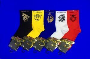 SUPER цветные носки С ПРИНТОМ универсальные