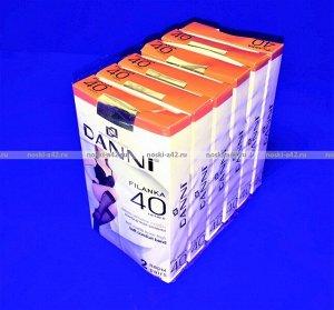 DANNI (Армения) гольфы женские 40 den по 2 пары в упаковке черные