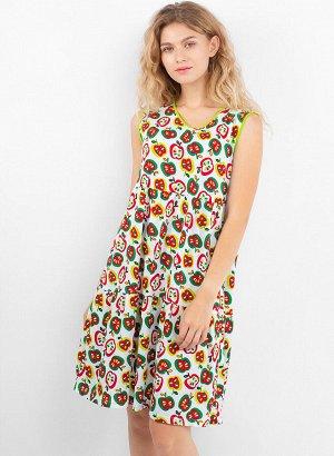 Платье. Цвет: Яблоки